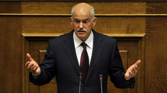 George Papandreou Cover