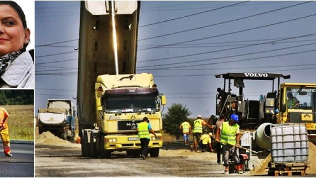 autostrada muncitori