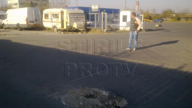 Doar in Romania poti sa vezi o asemenea imagine atunci cand iesi de la RAR. FOTO - Imaginea 3