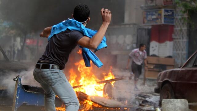Criza in Egipt. Sute de mii de oameni ies in strada pentru a forta demisia autoritatilor militare - Imaginea 5