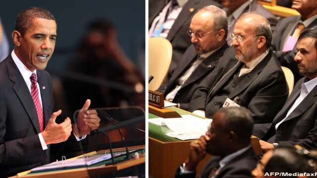 SUA strange latul in jurul lui Ahmadinejad: \