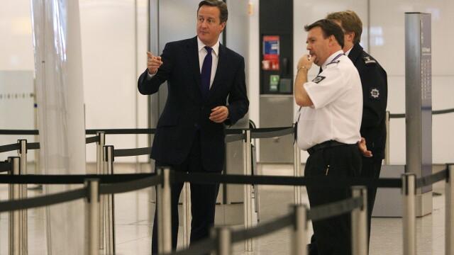 David Cameron aeroport