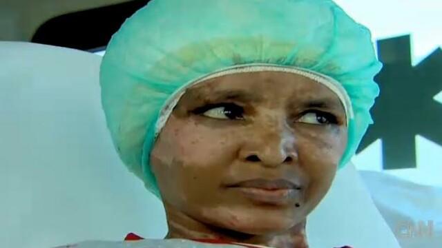 Reportaj CNN cutremurator. Imagini cu bona torturata in casa Ghaddafi, la doua luni dupa incident
