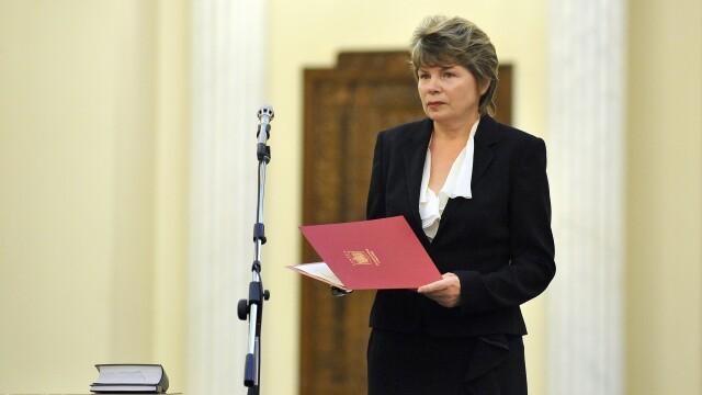 Senatul a aprobat numirea Monei Pivniceru intr-un post de judecator la Curtea Constitutionala
