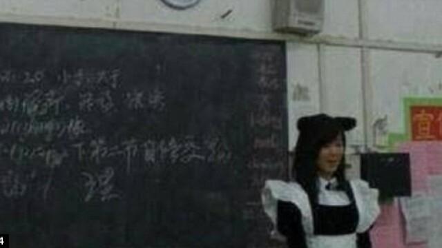Rasplata inedita a unei profesoare fericite pentru ca elevii ei au luat note mari la test. FOTO - Imaginea 2