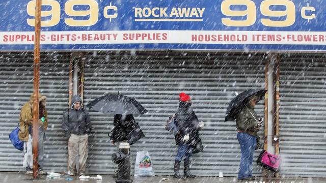 Dupa uraganul Sandy, inca un fenomen extrem loveste New York-ul: furtuna hibernala. Galerie FOTO - Imaginea 4