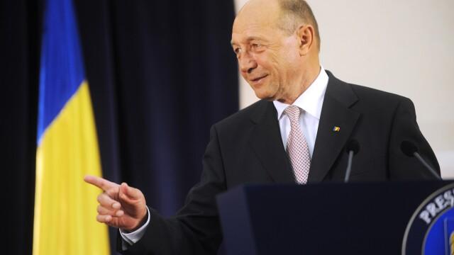 Traian Basescu: Miscarea Populara a fost ideea mea, e destinata celor neimplicati politic