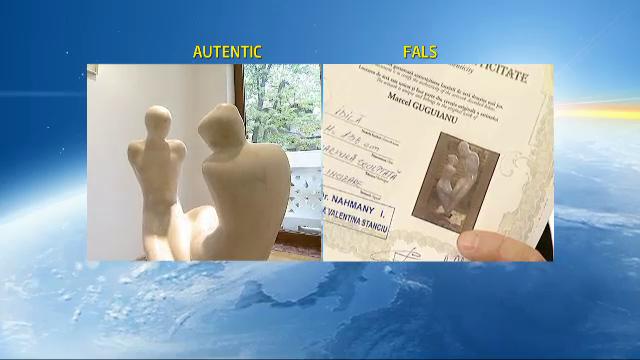 Piesele false ale unui sculptor roman celebru au invadat piata de arta la preturi de mii de euro