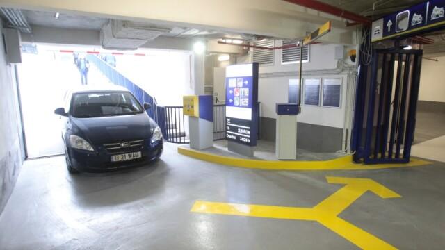 Parcarea subterana de la Universitate a fost deschisa. Cum arata si care sunt tarifele. GALERIE FOTO - Imaginea 10