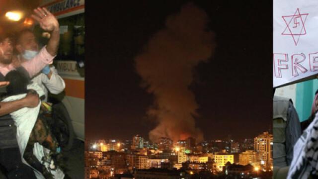 Armistitiul intre Israel si Hamas este in continuare respectat. Bilantul victimelor: 168 de morti - Imaginea 17