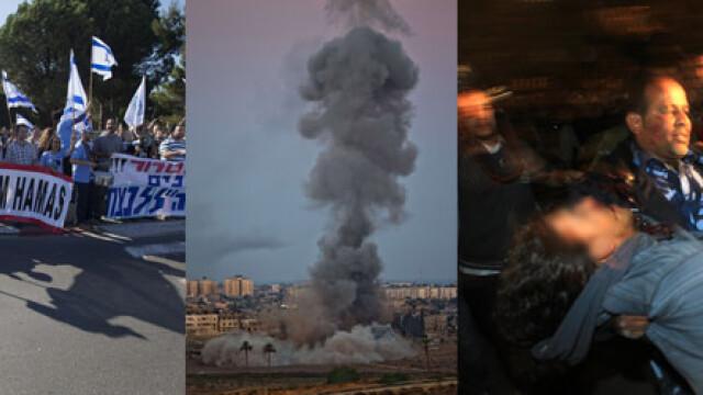 Armistitiul intre Israel si Hamas este in continuare respectat. Bilantul victimelor: 168 de morti - Imaginea 19