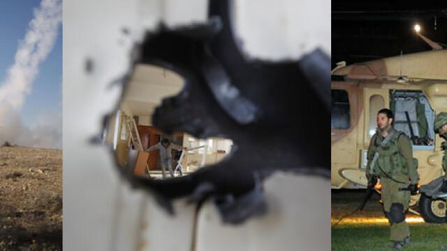 Armistitiul intre Israel si Hamas este in continuare respectat. Bilantul victimelor: 168 de morti - Imaginea 22