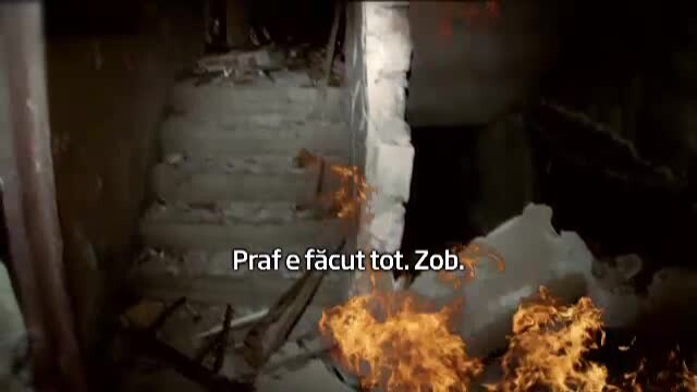 Trei oameni, grav raniti, in urma exploziei dintr-un bloc din Bumbesti-Jiu. Opt garsoniere, distruse