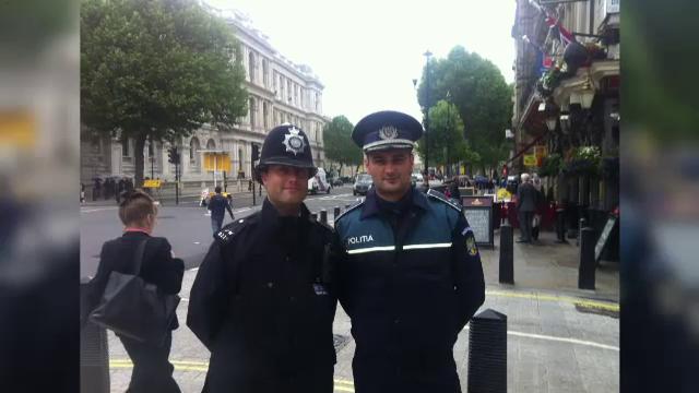 politist roman Londra