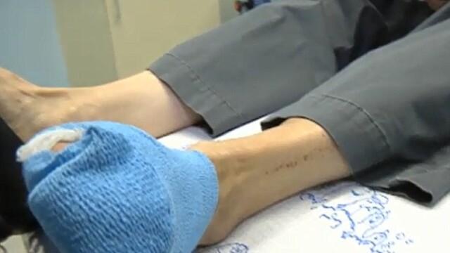 operatie la picior