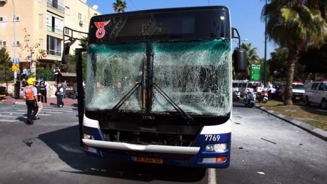 explozie, autobuz, Tel Aviv, atentat