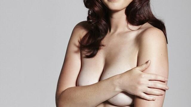 A fost la un pas de moarte din cauza anorexiei. Acum, pozeaza goala in Cosmopolitan. GALERIE FOTO - Imaginea 2