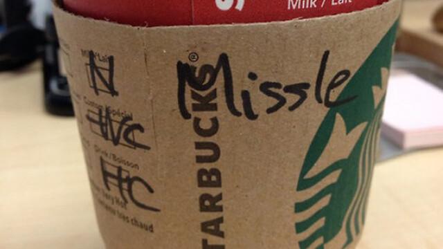 Topul celor mai haioase nume scrise gresit pe paharele de la Starbucks - Imaginea 7