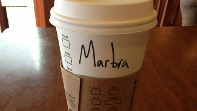 Topul celor mai haioase nume scrise gresit pe paharele de la Starbucks - Imaginea 4