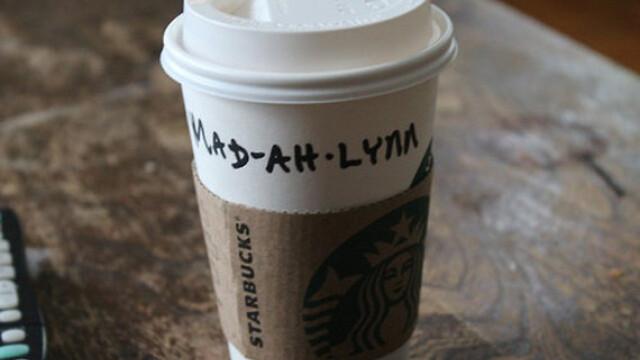 Topul celor mai haioase nume scrise gresit pe paharele de la Starbucks - Imaginea 2