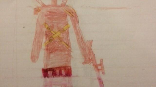 Un elev de 8 ani, amenintat cu exmatricularea, din cauza unor desene facute in caiet - Imaginea 1