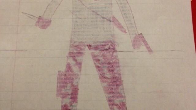 Un elev de 8 ani, amenintat cu exmatricularea, din cauza unor desene facute in caiet - Imaginea 2