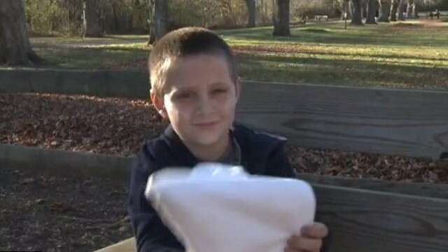 Cum si-a imbracat o mama din Virginia fiul de 7 ani de Halloween: