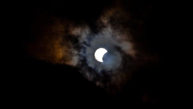 ECLIPSA HIBRID de soare in imagini. Cum a aratat ultima eclipsa a anului 2013