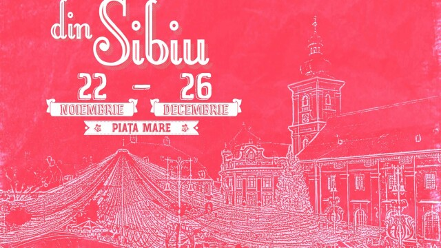Mos Craciun si-a deschis santier in centrul Sibiului