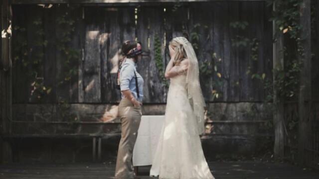 Parintii ei nu au fost de acord cu partenerul ales si nu au venit la nunta. Cum arata mirele. FOTO - Imaginea 3