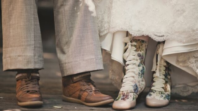 Parintii ei nu au fost de acord cu partenerul ales si nu au venit la nunta. Cum arata mirele. FOTO - Imaginea 10