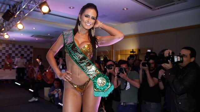 Cum arata tanara care a castigat concursul pentru cel mai frumos posterior din Brazilia. FOTO - Imaginea 2