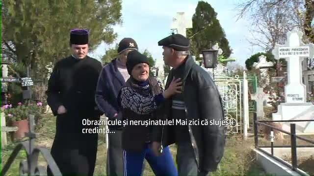 Un preot din Prahova refuza sa ingroape o femeie pe proprietatea ei pentru ca a fost adventista