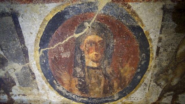 Vaticanul a restaurat doua fresce, in catacombele Priscillei, ce ar contine imagini controversate