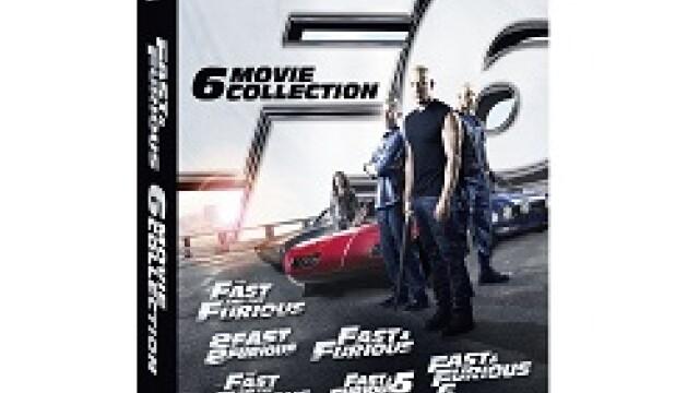 Fast & Furious. Colectia de 6 filme