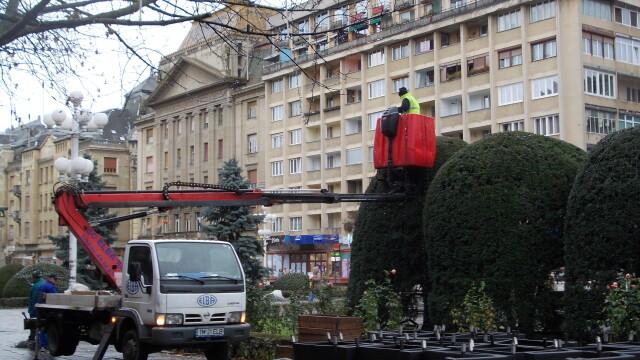 Timisoara se pregateste de sarbatori. Centrul orasului, impanzit de beculete - Imaginea 4