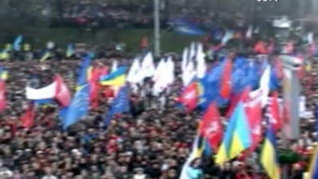 Euromaidan, revolutia care si-a luat numele de la un hashtag de pe internet. Momentele cheie ale celor 3 luni de revolte - Imaginea 2