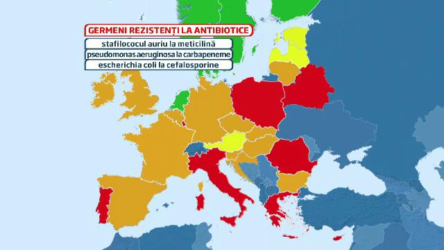 Romania, COD ROSU in UE la rezistenta bacteriana la antibiotice. Riscurile la care ne expunem