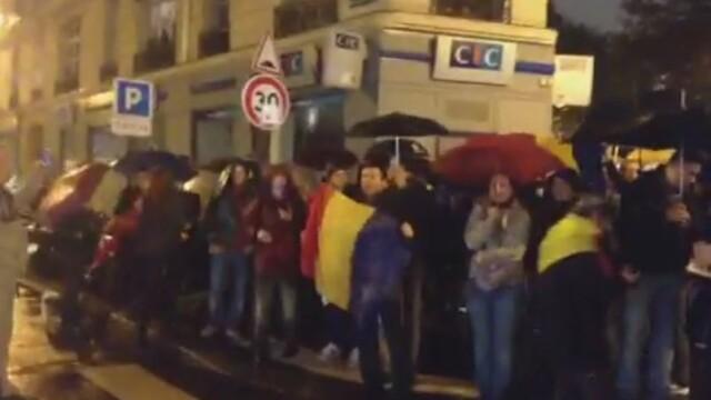 proteste vot romani Paris