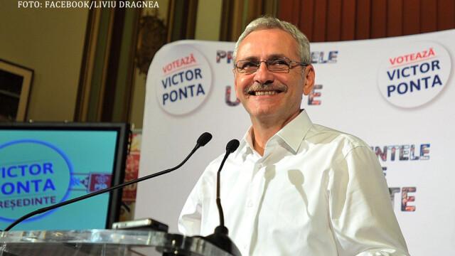 Liviu Dragnea dupa primul tur al alegerilor 2014