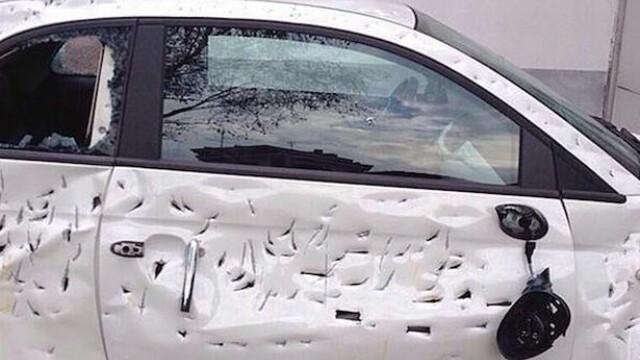 Un contabil italian si-a distrus masina cu un topor la cateva zile dupa ce a cumparat-o. Motivul bizar al gestului sau