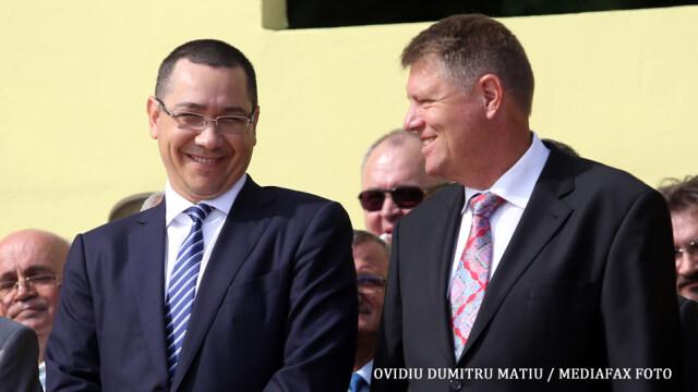 Victor Ponta, despre Klaus Iohannis: \