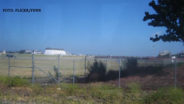 hangarul unu de la baza Moffett