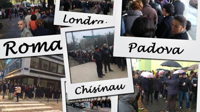 ALEGERI PREZIDENTIALE 2014. Peste 360.000 de voturi s-au inregistrat in diaspora pana la ora 23. Revolte la Paris si Torino - Imaginea 33