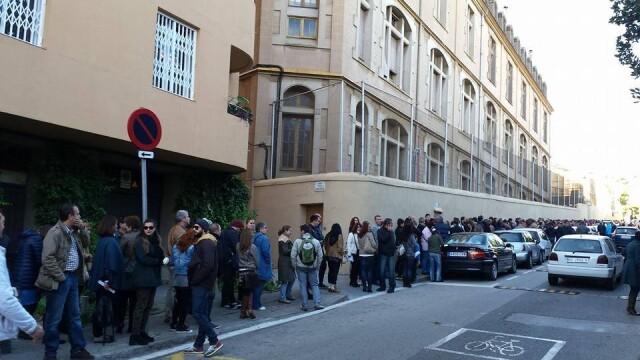 ALEGERI PREZIDENTIALE 2014. Peste 360.000 de voturi s-au inregistrat in diaspora pana la ora 23. Revolte la Paris si Torino - Imaginea 39