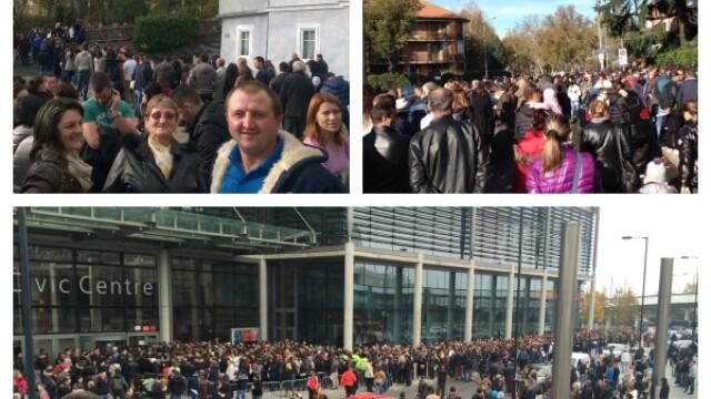 ALEGERI PREZIDENTIALE 2014. Peste 360.000 de voturi s-au inregistrat in diaspora pana la ora 23. Revolte la Paris si Torino - Imaginea 59