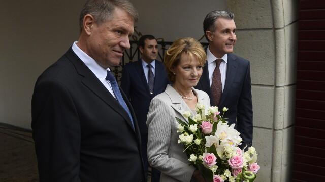 Moment istoric la Palatul Regal: Regele Mihai si-a serbat ziua de nastere. Klaus Iohannis a fost prezent la eveniment - Imaginea 4