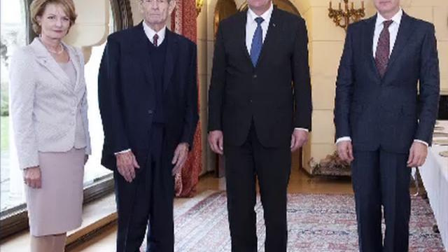 Moment istoric la Palatul Regal: Regele Mihai si-a serbat ziua de nastere. Klaus Iohannis a fost prezent la eveniment - Imaginea 7