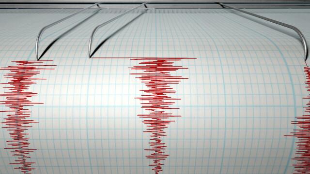 Cutremur cu magnitudine de 4 pe scara Richter, petrecut vineri, la o adancime de 120 de kilometri