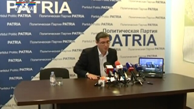 Alegeri in Moldova. Curtea Suprema de Justitie examineaza sambata dosarul excluderii Partidului Patria din alegeri
